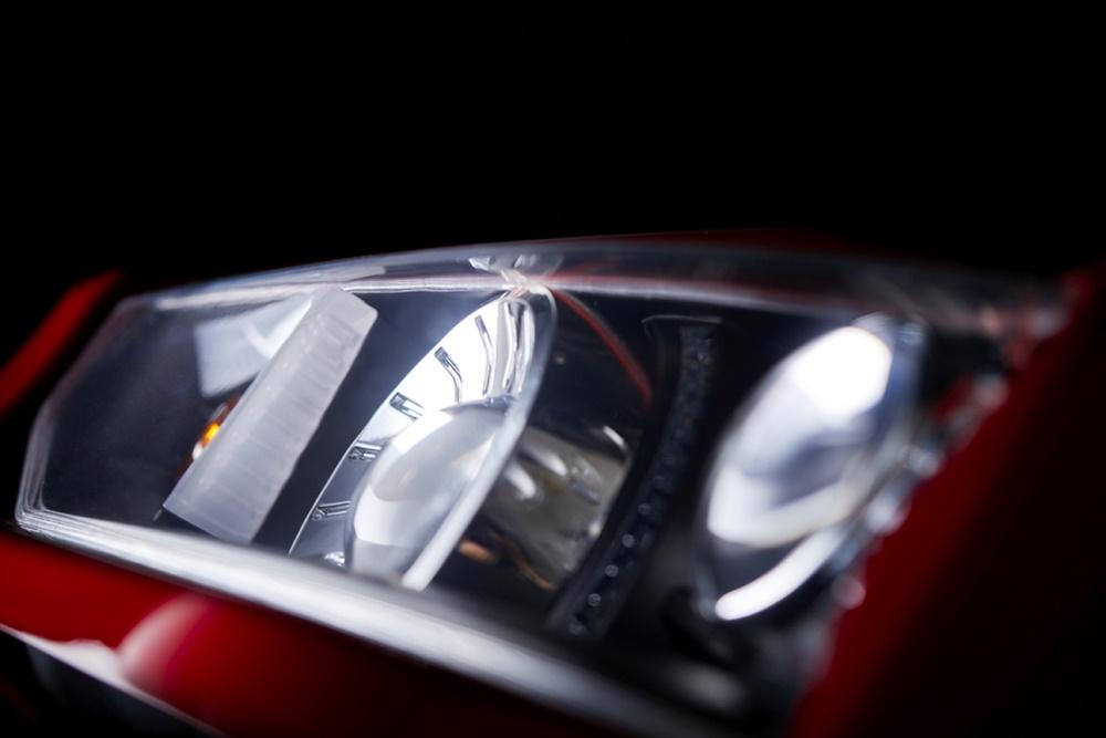 Headlight mock-up