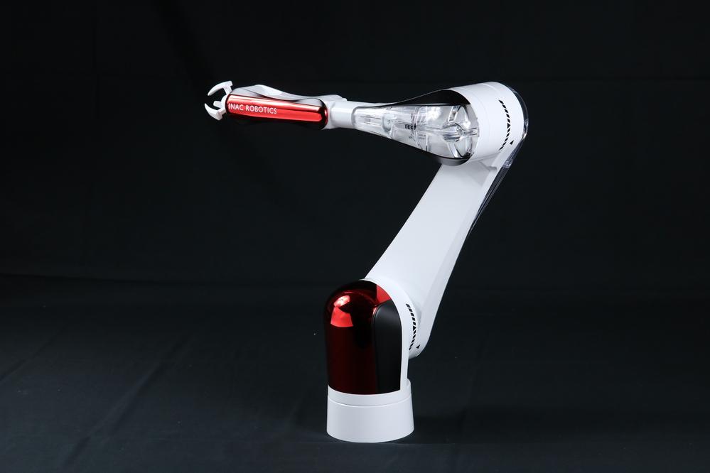 Robotarm-Metallic-Red